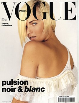 Vogue Paris February 2001 : Kate Moss