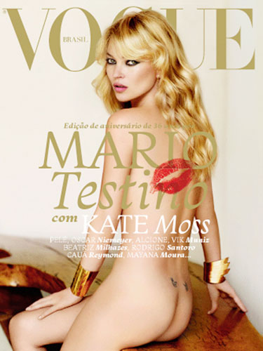 Vogue Brazil May 2011 : Kate Moss