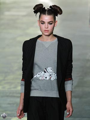 Topshop Unique F/W 2011 - Bambi Northwood Blyth