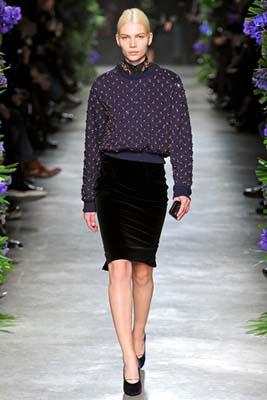 Givenchy F/W 2011 - Aline Weber