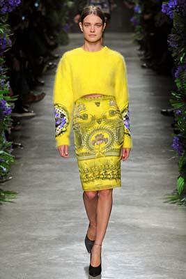 Givenchy F/W 2011 - Natalia Vodianova