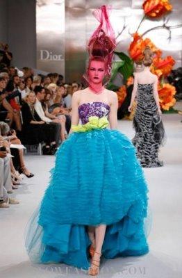 Christian Dior Haute Couture F/W 2010:Monika Jagaciak