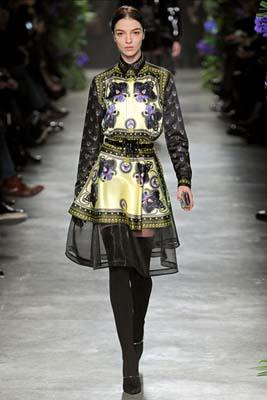 Givenchy F/W 2011 - Mariacarla Boscono