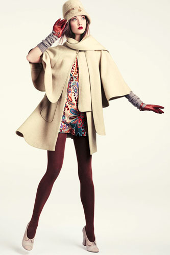 H&M Fall 2011 Lookbook:Karlie Kloss