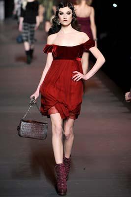 Christian Dior F/W 2011 - Jacquelyn Jablonski
