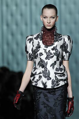 Marc Jacobs F/W 2011 - Katrina Hoerning