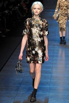 Dolce & Gabbana F/W 2011 - Ginta Lapina