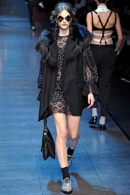 Dolce & Gabbana F/W 2011 - Sara Blomqvist