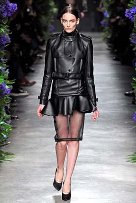 Givenchy F/W 2011 - Zuzanna Bijoch