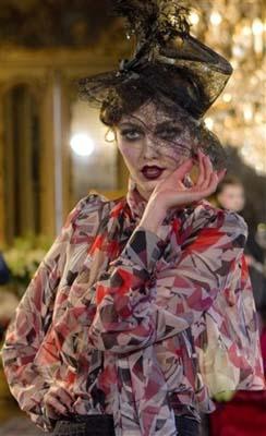 John Galliano F/W 2011 - Alina Baikova