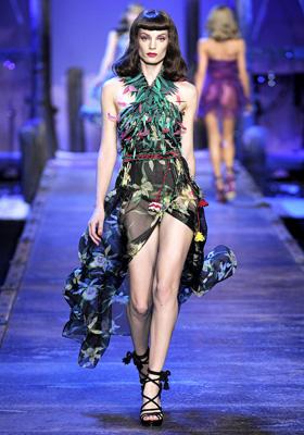 Christian Dior S/S 2011 : Iris Strubegger
