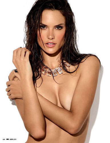 GQ Brazil April 2011:Alessandra Ambrosio