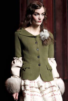 Christian Dior F/W 2011 - Zuzanna Bijoch
