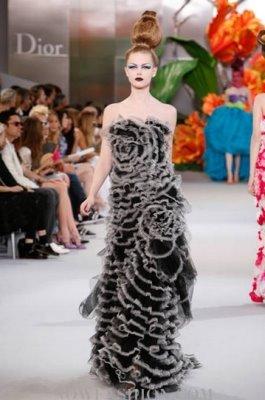 Christian Dior Haute Couture F/W 2010:Frida Gustavsson