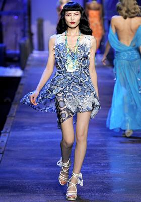 Christian Dior S/S 2011 : Liu Wen
