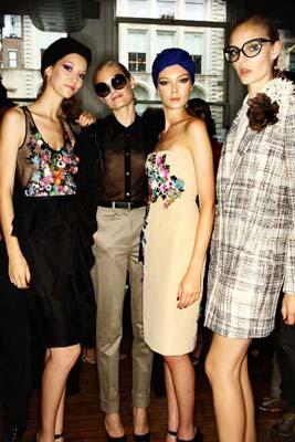 Jason Wu S/S 2011 : Alana Zimmer,Hanne Gaby Odiele,Siri Tollerod & Niume Smit