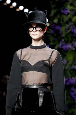 Givenchy F/W 2011 - Kasia Struss