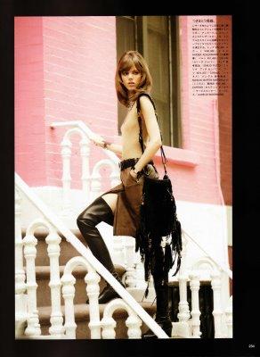 Vogue Nippon August 2010:Freja Beha Erichsen