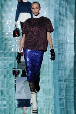 Marc Jacobs F/W 2011 - Anja Rubik