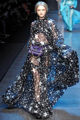 Dolce & Gabbana F/W 2011 - Vlada Roslyakova