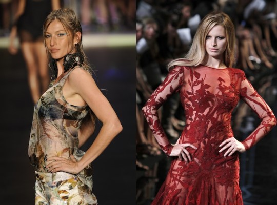 Fashion's Night Out: The Show - Gisele Bundchen, Karolina Kurkova