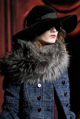 Christian Dior F/W 2011 - Karmen Pedaru