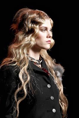 Christian Dior F/W 2011 - Maryna Linchuk