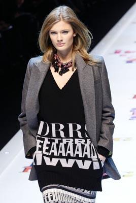 D&G F/W 2011 - Constance Jablonski