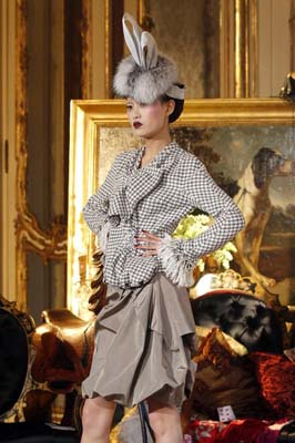 John Galliano F/W 2011 - Shu Pei