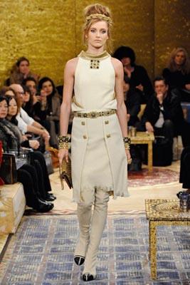 Chanel Paris-Byzance Pre Fall 2011 - Karmen Pedaru