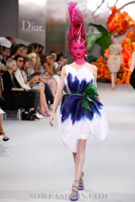 Christian Dior Haute Couture F/W 2010:Anna Selezneva