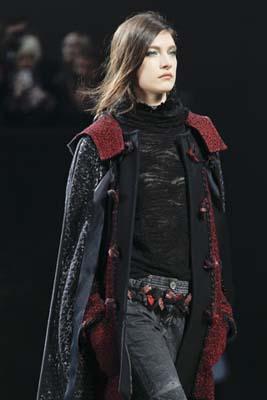 Chanel F/W 2011 - Jacquelyn Jablonski