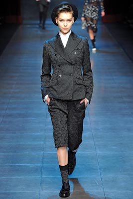 Dolce & Gabbana F/W 2011 -Arizona Muse