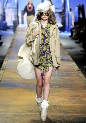 Christian Dior S/S 2011 : Caroline Brasch-Nielsen