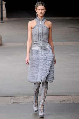 Alexander McQueen F/W 2011 - Kasia Struss
