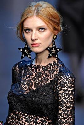 Dolce & Gabbana F/W 2011 - Olga Sherer