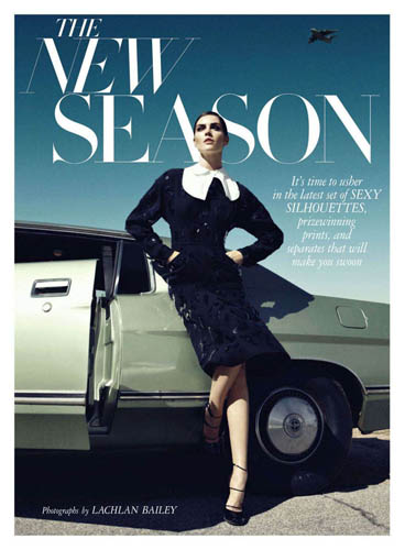 Harper's Bazaar June / July 2011 - Hilary Rhoda