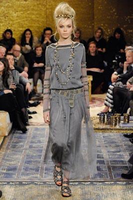 Chanel Paris-Byzance Pre Fall 2011 - Siri Tollerod