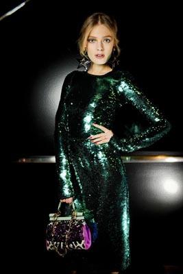 Dolce & Gabbana F/W 2011 - Constance Jablonski