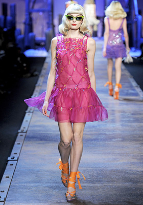 Christian Dior S/S 2011 : Agnete Hegelund