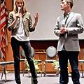 Sara Ziff & Ole Schell at Fordham's Fashion Law Institute