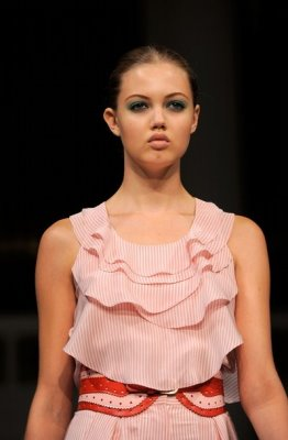 Oscar de la Renta S/S 2011 : Lindsey Wixson