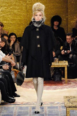 Chanel Paris-Byzance Pre Fall 2011 - Ashley Smith