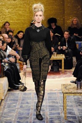 Chanel Paris-Byzance Pre Fall 2011 - Sigrid Agren