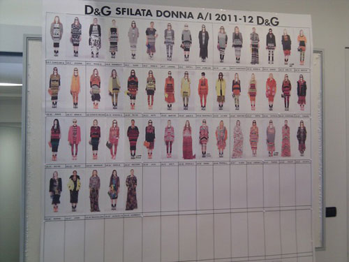 D&G F/W 2011