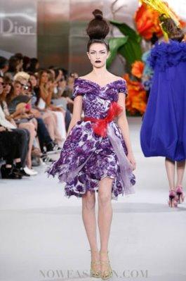 Christian Dior Haute Couture F/W 2010:Jacquelyn Jablonski