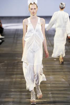 Alexander Wang S/S 2011 : Julia Nobis