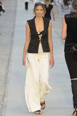 Chanel Cruise 2012 Cap d'Antibes - Frankie Rayder