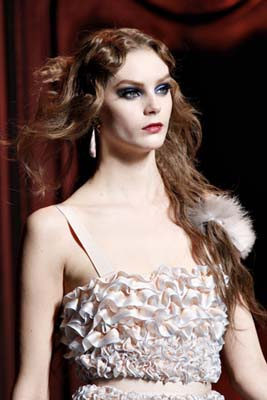 Christian Dior F/W 2011 - Juju Ivanyuk
