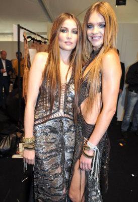 Roberto Cavalli S/S 2011 : Laetitia Casta & Natalia Vodianova
